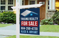 For Sale Sign -1 sided